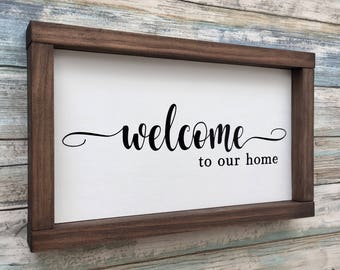Long signs home decor