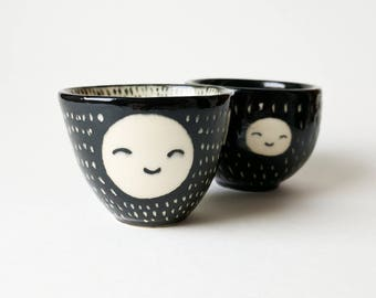 Happy Face Espresso Cup / Planter