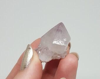 Spirit amethyst - cactus quartz - fairy quartz - spirit crystal - crystal healing - crystal jewelry- crystal point - amethyst cluster - T2a6