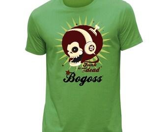 Cute funky green men's T-shirt
