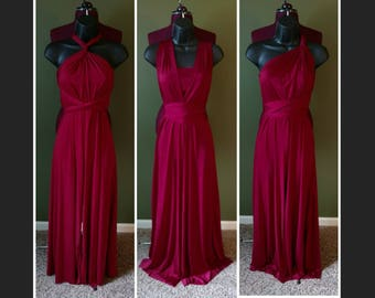 Red infinity jumpsuit