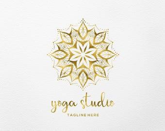 Mandala logo, Logo & branding, Yoga Logo, Premade Logo, Photography logo, Logo design, Custom logo design, Business Logo, Boho logo, 083