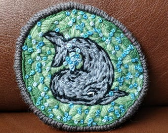 Grey Whale Patch