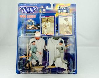 Starting Lineup Baseball 1998 Classic Doubles NY Yankees Babe Ruth Roger Maris