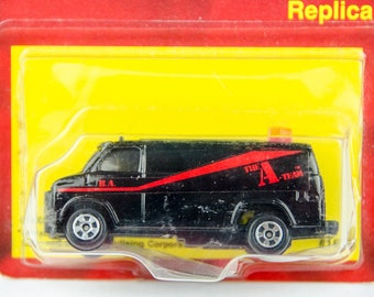 Vintage Ertl The A-Team Van 1/64 Scale Diecast Model Car
