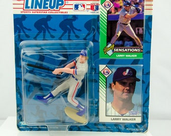 Starting Lineup 1993 MLB Larry Walker Action Figure Montreal Expos