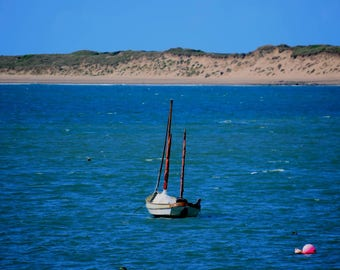 Sail Boat in Harbour