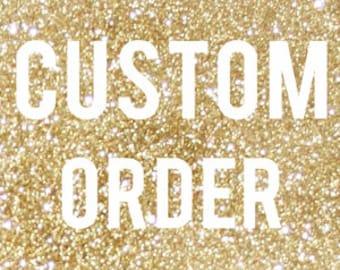 Custom Vinyl Decal Order for yetis, car windows, laptops, coffee mugs, wine glasses and more