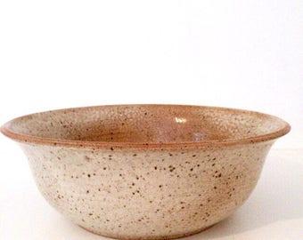 Large stoneware/stoneware bowl Large Bowl