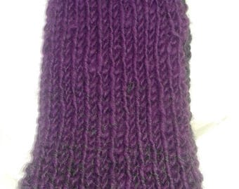 Purple And Gray Ombré Scarf