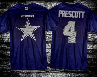 Dak Prescott  Dallas Cowboys T Shirt