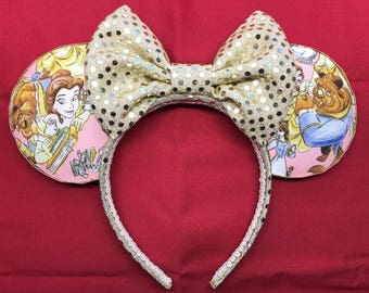 Beauty and the Beast mickey ears!