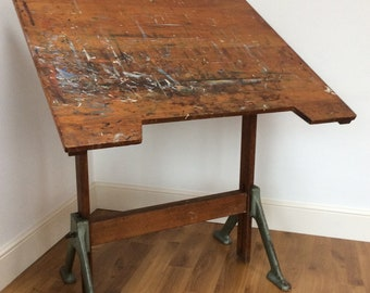 Amazing Vintage Draughtmans Desk