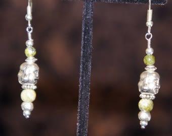Buddha Dangle Earrings