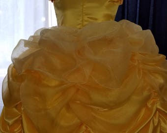 Princess Belle Ball Gown