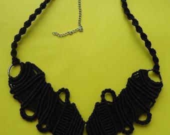 Micromacrame jewellery