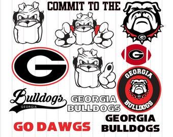 INSTANT DOWNLOAD - Georgia Bulldogs, Georgia Bulldogs Svg, Georgia Bulldogs Monogram, Georgia Svg, Georgia Clipart, Georgia, Bulldogs