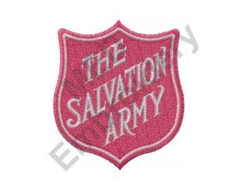 Salvation Army - Machine Embroidery Design