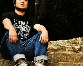 T-Shirt Football Mad Kyoto-KEMARI/蹴鞠 the Classic