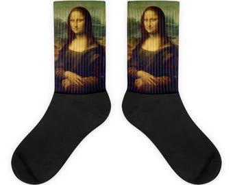 Mona Lisa, Leonardo da Vinci  - Socks