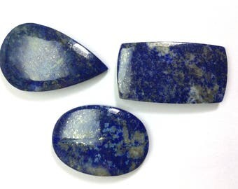 Lapis lazuli gemstone 28 to 39mm
