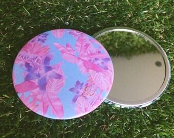 Pink Tiger Pocket Mirror