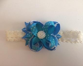 Turquoise Gem Headband