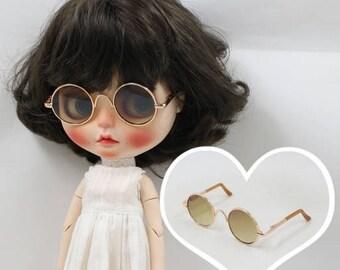 Blythe Round Glasses / Blythe Glasses / Doll Glasses / Blythe Round-Shaped Glasses