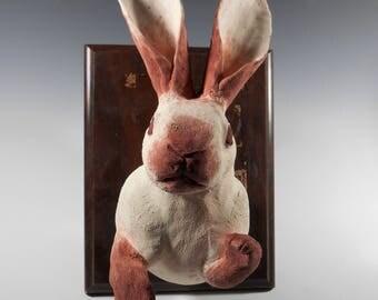 Rabbit Faux Taxidermy Mount