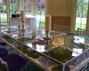 Clear Acrylic Table Toppers