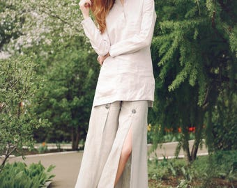 Culottes, trousers