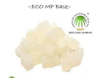 100% RSPO Palm Base Eco Melt and Pour Soap Base 250g - 1kg