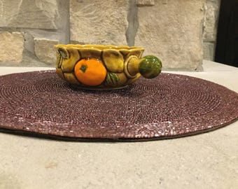 Vintage Inarco Soup Bowl with oranges