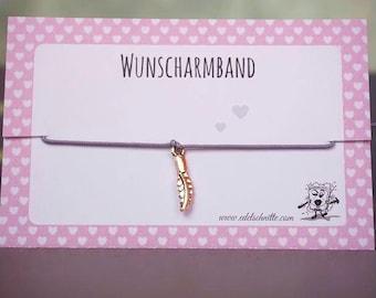 Desire bracelet * spring * pink gold