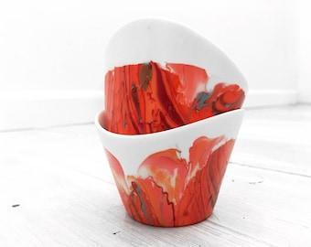 Coral Medium Bowls