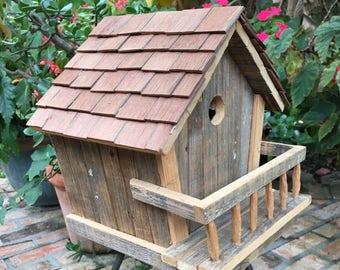 Shingle Birdhouse