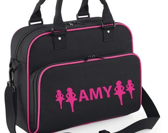 iLeisure Girls Personalised Four Irish Dancers Dance Bag.