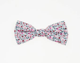 Flowerfield bow tie red MORÉ de-