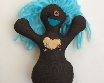 Steampunk Happy Monster Doll