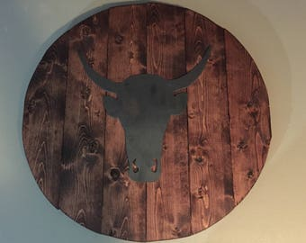 Bull Shield Display