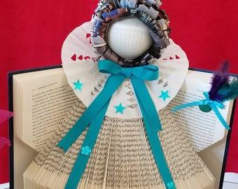 Angel handmade with books