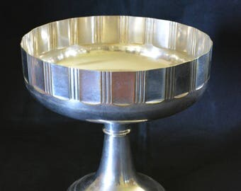 Art deco silver plated Cup