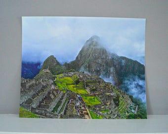 Machu Picchu, Peru | 8x10, 16x20
