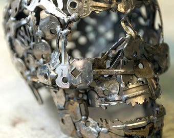Skull key design