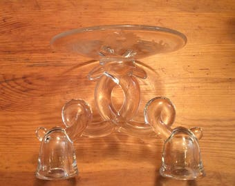 Heisey Lariat Pattern #1540 Double Candle Holder
