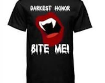 Bite me! T-Shirt Size Large
