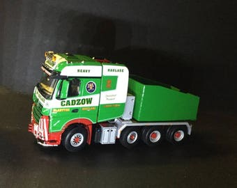1:50 scale lorry Modern Ballast Box as Used By Cadzow heavy haulage