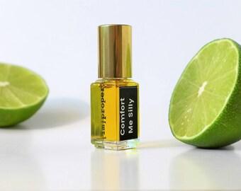 Botanical Vanilla Natural Perfume // Comfort Me Silly Oil Frangrance Handmade