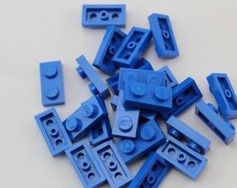LEGO® Mosaic  Pieces 1x2 (x25) - Blue
