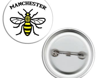 Manchester Bee Pin Badge